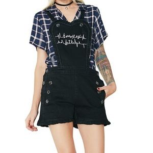 Heartless Bitch Overall Shorts